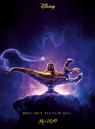 Aladdin - French Movie Poster (xs thumbnail)