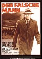 The Wrong Man - German Movie Poster (xs thumbnail)