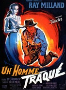 A Man Alone - French Movie Poster (xs thumbnail)
