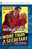 More Than a Secretary - DVD cover (xs thumbnail)