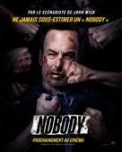 Nobody - French Movie Poster (xs thumbnail)