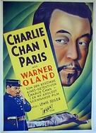 Charlie Chan in Paris - Swedish Movie Poster (xs thumbnail)