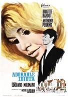 Une ravissante idiote - Spanish Movie Poster (xs thumbnail)