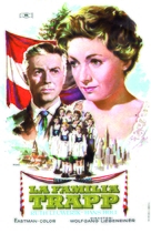 Die Trapp-Familie - Spanish Movie Poster (xs thumbnail)