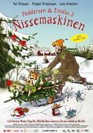 Pettson och Findus 3: Tomtemaskinen - Danish poster (xs thumbnail)