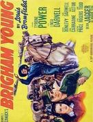 Brigham Young - British Movie Poster (xs thumbnail)