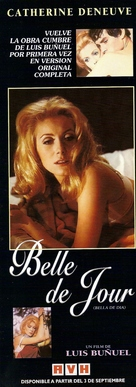 Belle de jour - Argentinian Movie Poster (xs thumbnail)