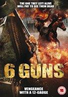 6 Guns - British DVD movie cover (xs thumbnail)