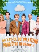 """""""Qu'est ce qu'on attend pour être heureux?"""" - French Movie Poster (xs thumbnail)"""