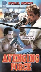Avenging Force - Dutch VHS movie cover (xs thumbnail)