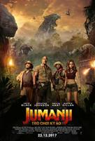 Jumanji: Welcome to the Jungle - Vietnamese Movie Poster (xs thumbnail)