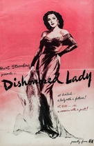 Dishonored Lady - poster (xs thumbnail)