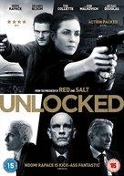 Unlocked - British DVD movie cover (xs thumbnail)