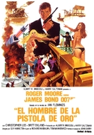 The Man With The Golden Gun - Spanish Movie Poster (xs thumbnail)