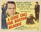 A Close Call for Boston Blackie - Movie Poster (xs thumbnail)