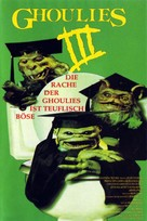Ghoulies III: Ghoulies Go to College - German Movie Poster (xs thumbnail)