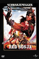 Red Sonja - DVD cover (xs thumbnail)