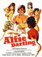 Alfie Darling - Danish Movie Poster (xs thumbnail)