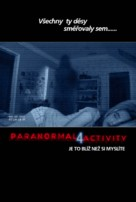 Paranormal Activity 4 - Czech Movie Poster (xs thumbnail)