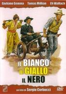 Il bianco, il giallo, il nero - Italian DVD cover (xs thumbnail)