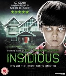 Insidious - British Blu-Ray movie cover (xs thumbnail)