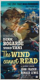 The Wind Cannot Read - British Movie Poster (xs thumbnail)