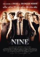 Nine - Swedish Movie Poster (xs thumbnail)