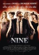 Nine - Swedish Movie Poster (xs thumbnail)