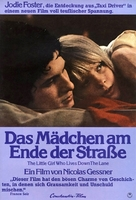 The Little Girl Who Lives Down the Lane - German Movie Poster (xs thumbnail)