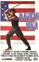 American Ninja - Finnish Movie Cover (xs thumbnail)