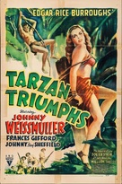 Tarzan Triumphs - Movie Poster (xs thumbnail)