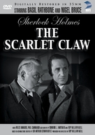 The Scarlet Claw - DVD cover (xs thumbnail)