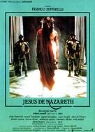 """Jesus of Nazareth"" - French Movie Poster (xs thumbnail)"