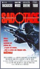 Sabotage - Slovenian Movie Poster (xs thumbnail)