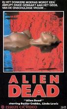 Alien Dead - Dutch VHS movie cover (xs thumbnail)