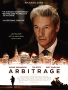 Arbitrage - French Movie Poster (xs thumbnail)