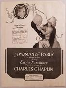 A Woman of Paris - Movie Poster (xs thumbnail)