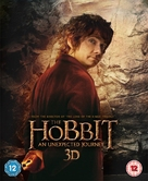 The Hobbit: An Unexpected Journey - British Blu-Ray movie cover (xs thumbnail)