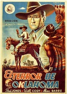 Dawn on the Great Divide - Spanish Movie Poster (xs thumbnail)