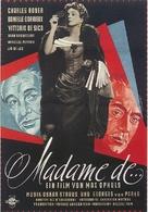 Madame de... - German Movie Poster (xs thumbnail)