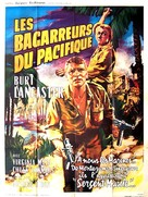 South Sea Woman - French Movie Poster (xs thumbnail)