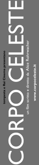 Corpo celeste - Italian Logo (xs thumbnail)