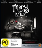 Mary and Max - New Zealand Blu-Ray cover (xs thumbnail)