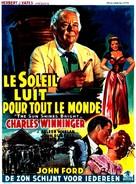 The Sun Shines Bright - Belgian Movie Poster (xs thumbnail)