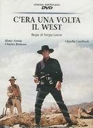 C'era una volta il West - Italian DVD movie cover (xs thumbnail)