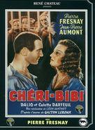 Chéri-Bibi - French DVD cover (xs thumbnail)