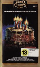 Bloody Birthday - New Zealand VHS cover (xs thumbnail)