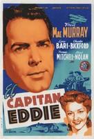 Captain Eddie - Spanish Movie Poster (xs thumbnail)