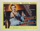 Crime of Passion - Theatrical poster (xs thumbnail)