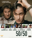 50/50 - Norwegian Blu-Ray movie cover (xs thumbnail)